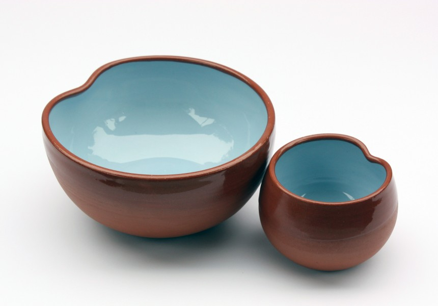 Thumb cup and bowl